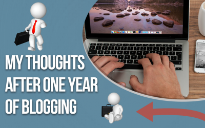Thoughts After One Year of Blogging